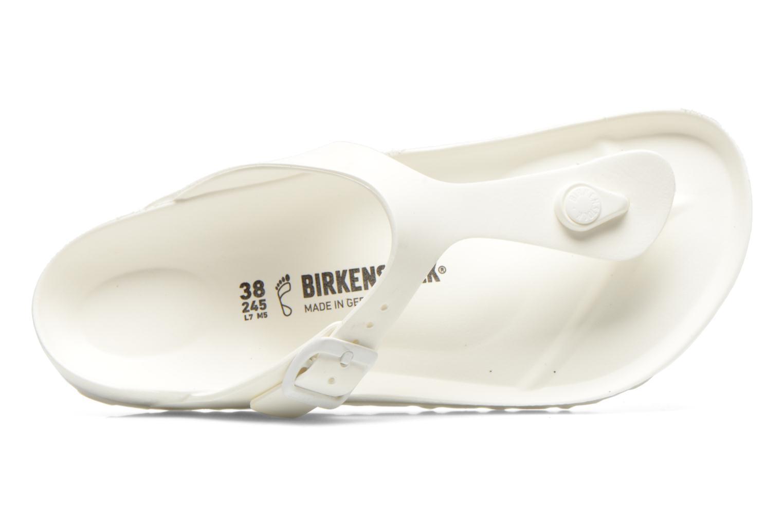 Sandali e scarpe aperte Birkenstock Gizeh EVA W Bianco immagine sinistra