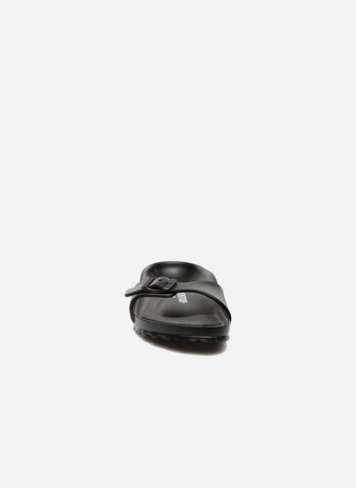 Clogs & Pantoletten Birkenstock Madrid EVA W schwarz schuhe getragen