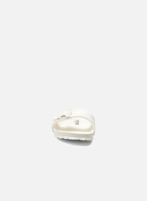 Mules et sabots Birkenstock Madrid EVA W Blanc vue portées chaussures
