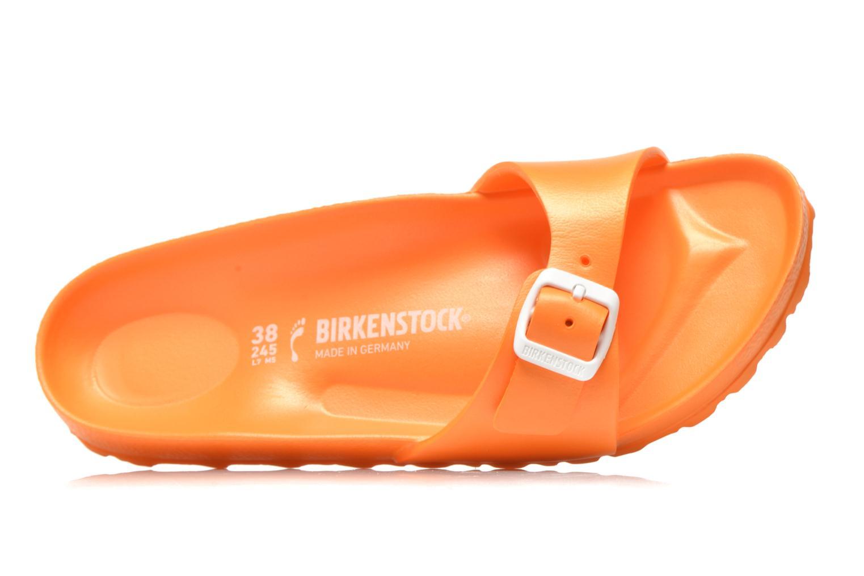 Mules et sabots Birkenstock Madrid EVA W Orange vue gauche