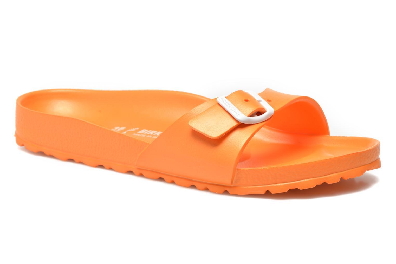 Mules et sabots Birkenstock Madrid EVA W Orange vue détail/paire