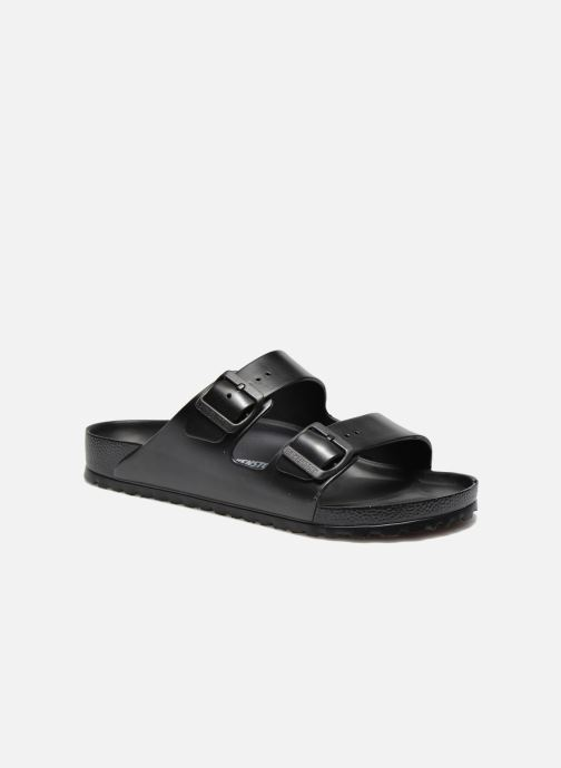 Sandales et nu-pieds Birkenstock Arizona Flor Men II Noir vue détail/paire