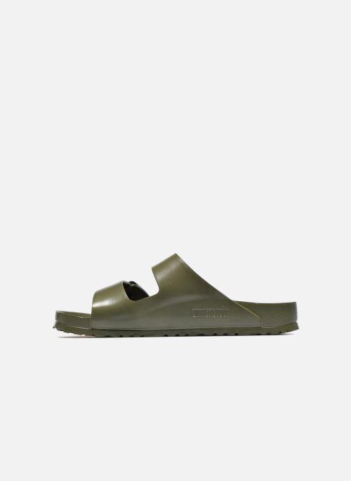 Sandali e scarpe aperte Birkenstock Arizona EVA M Verde immagine frontale