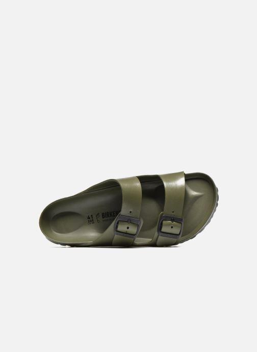 Sandali e scarpe aperte Birkenstock Arizona EVA M Verde immagine sinistra