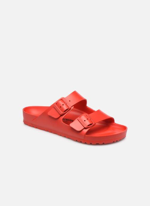 Sandales et nu-pieds Birkenstock Arizona EVA M Rouge vue détail/paire
