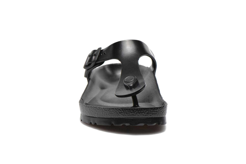 Tongs Birkenstock Gizeh EVA M Noir vue portées chaussures