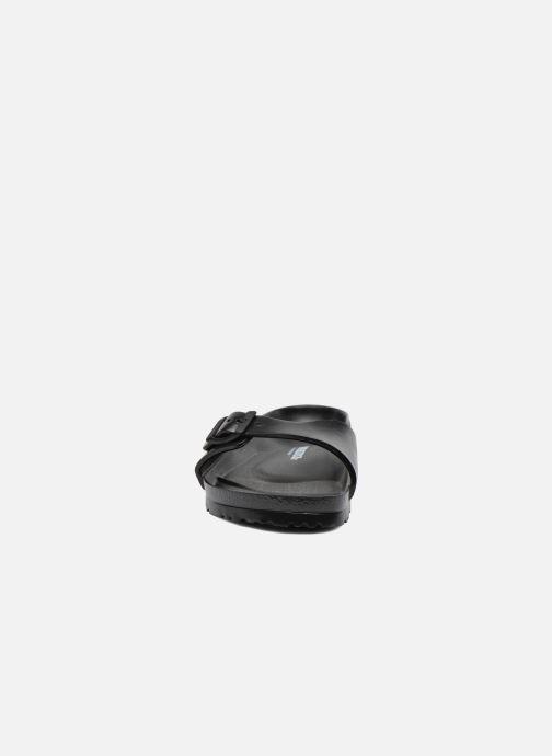Sandali e scarpe aperte Birkenstock Madrid EVA M Nero modello indossato