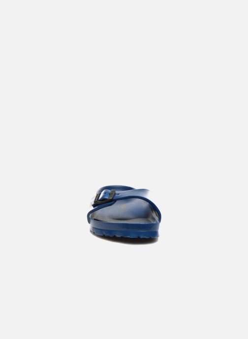 Sandali e scarpe aperte Birkenstock Madrid EVA M Azzurro modello indossato