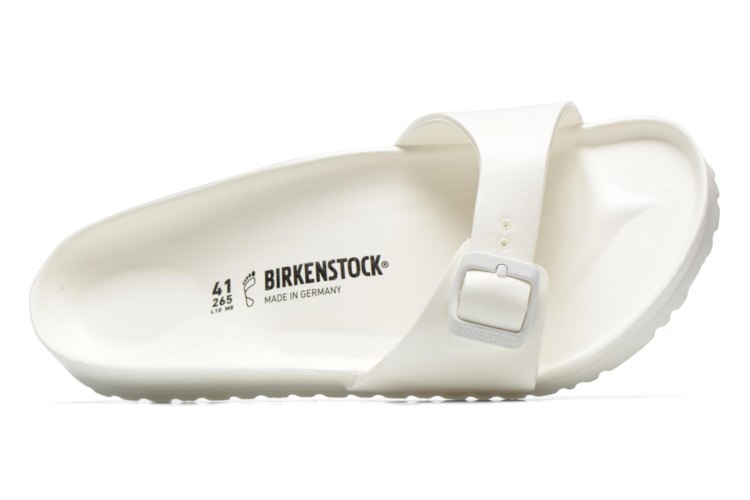 Sandals Birkenstock Madrid EVA M White view from the left