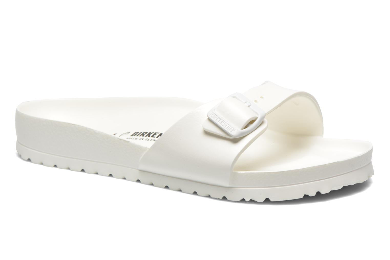 Sandals Birkenstock Madrid EVA M White detailed view/ Pair view