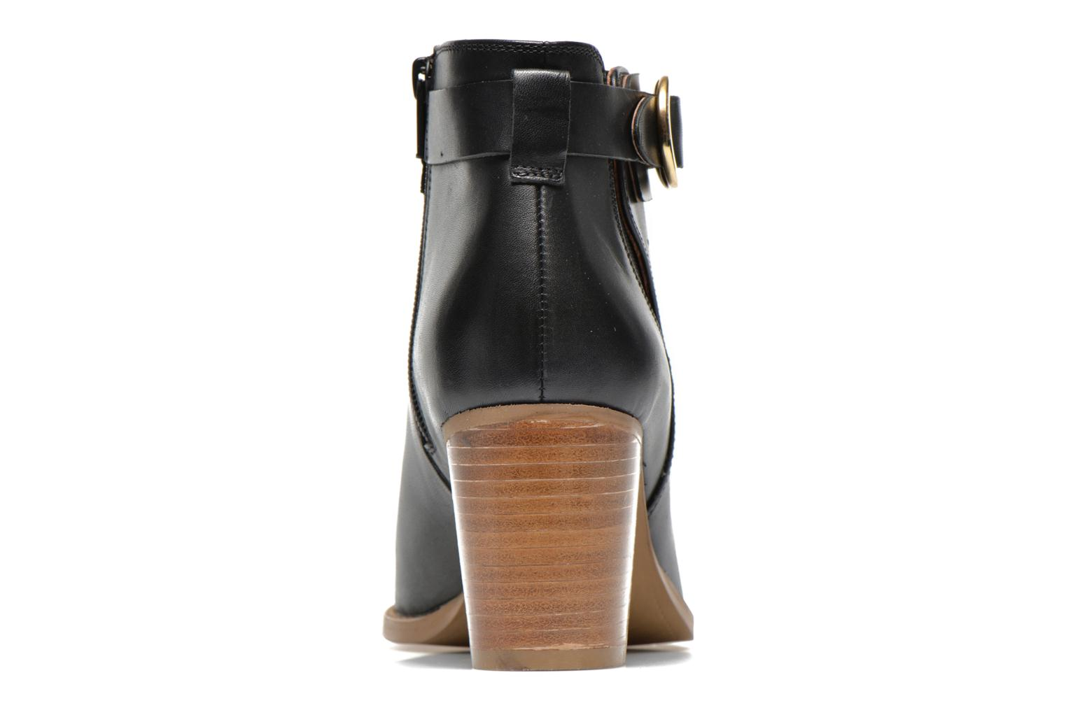 Ankle boots Georgia Rose Eperdrix Black view from the right