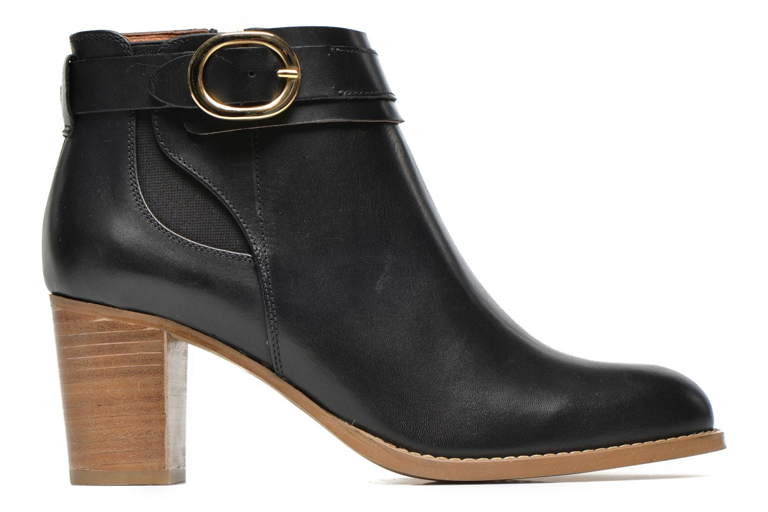 Ankle boots Georgia Rose Eperdrix Black back view
