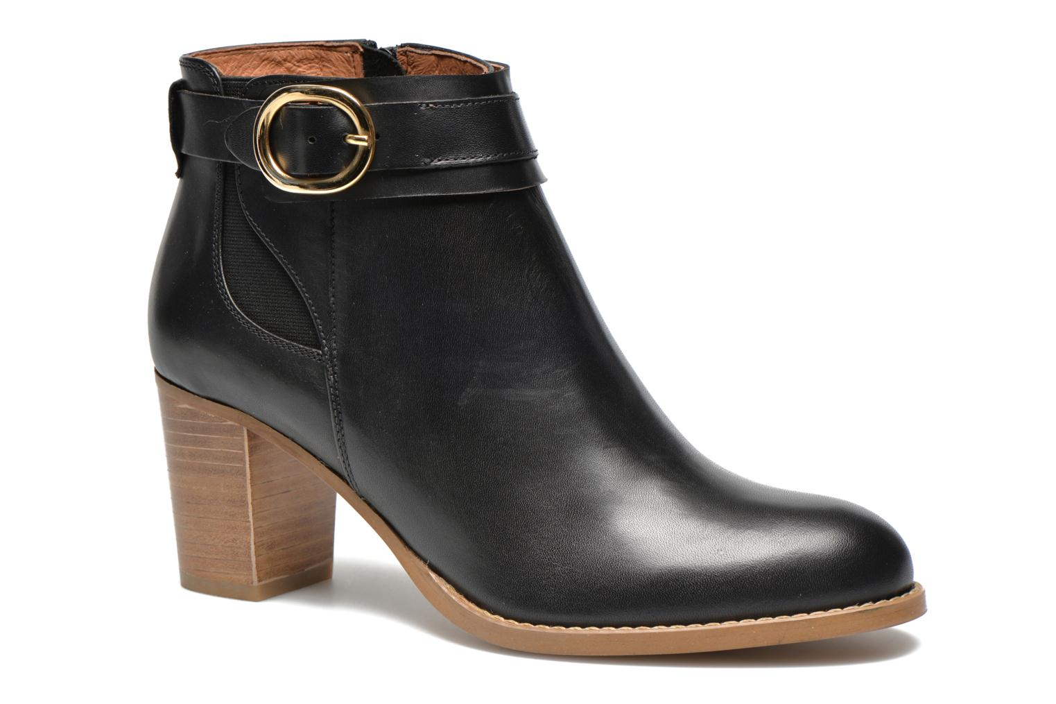 Ankle boots Georgia Rose Eperdrix Black detailed view/ Pair view