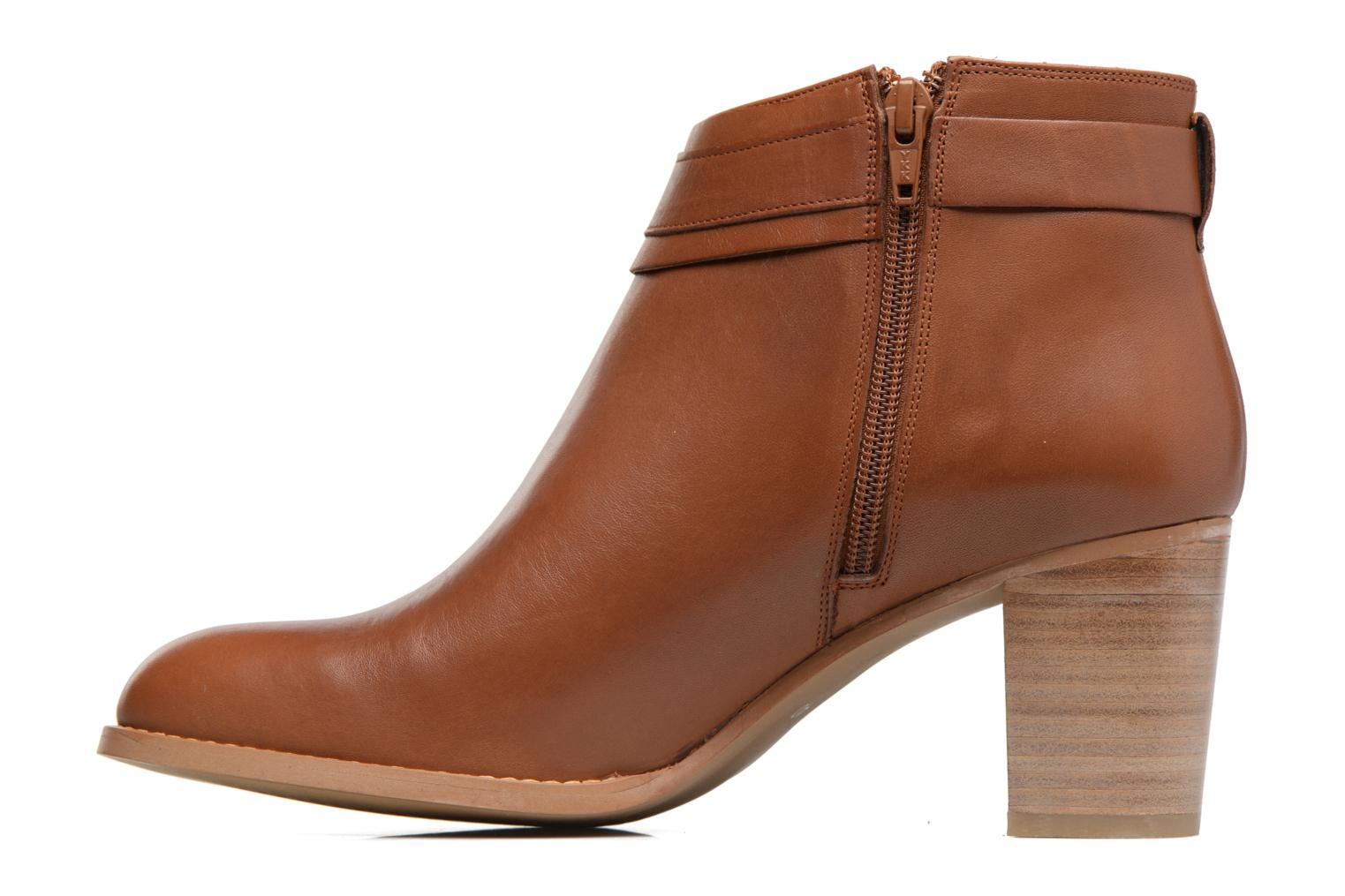 Ankle boots Georgia Rose Eperdrix Brown front view