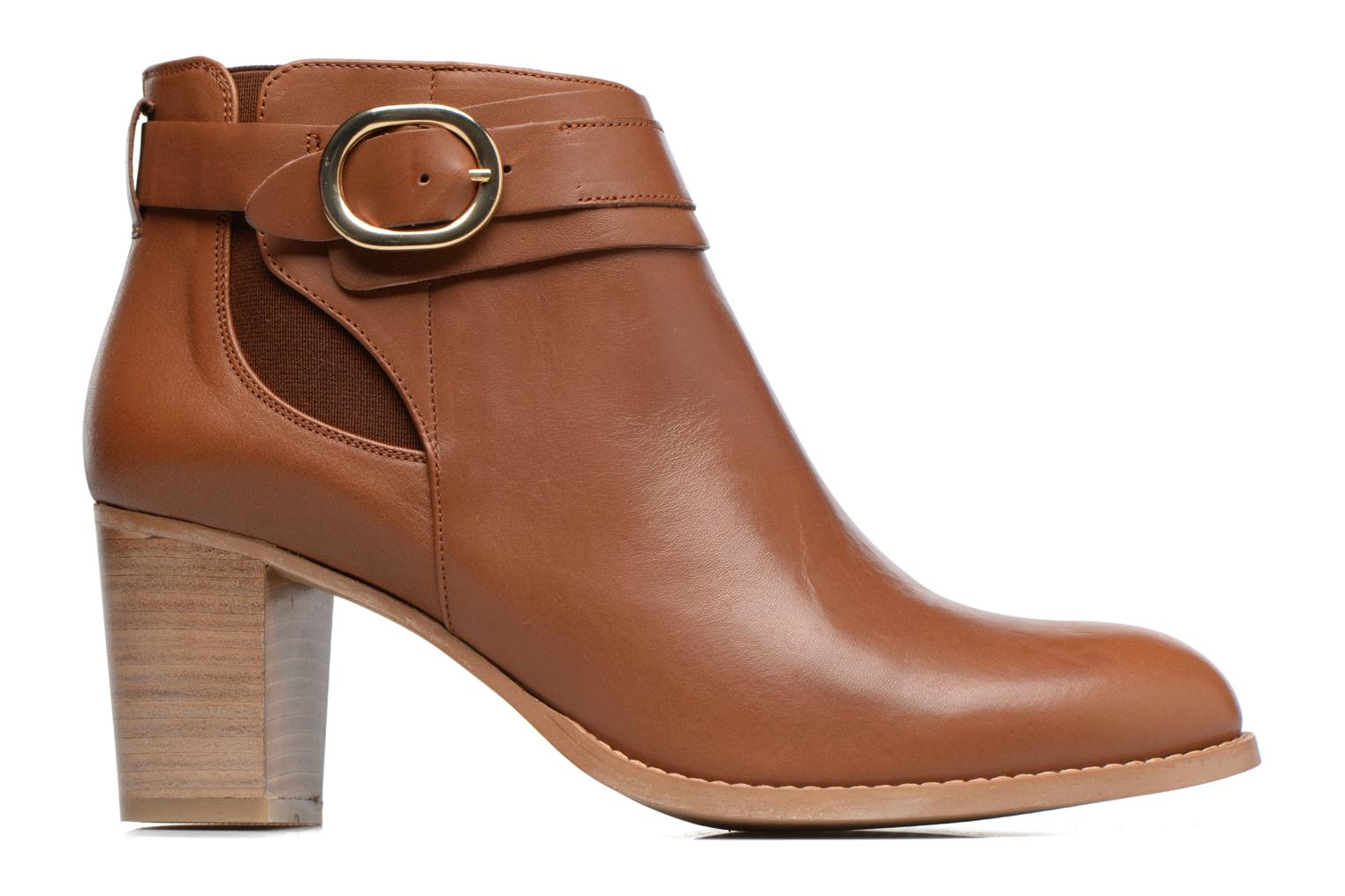 Ankle boots Georgia Rose Eperdrix Brown back view