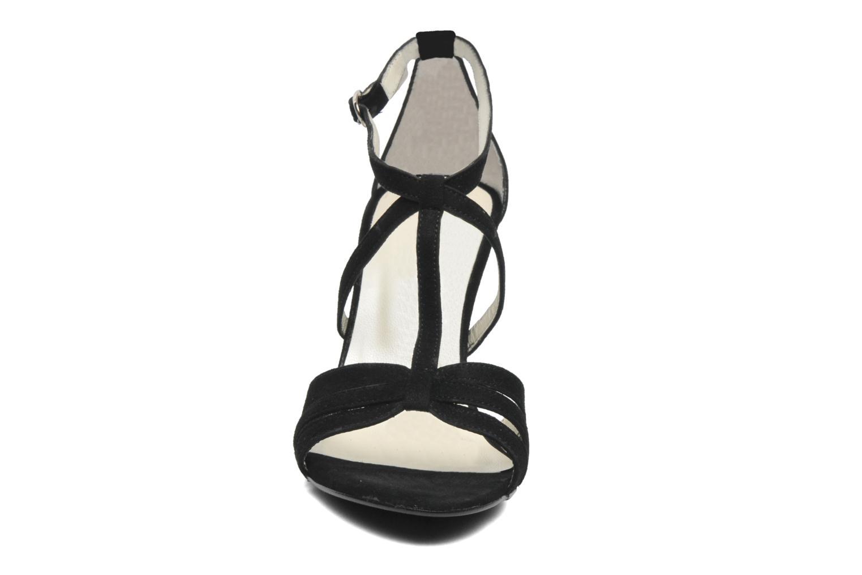 Sandales et nu-pieds Georgia Rose Epurée Noir vue portées chaussures