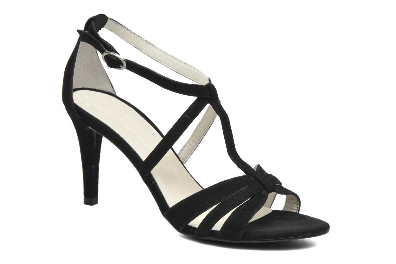 Sandales et nu-pieds Georgia Rose Epurée Noir vue détail/paire