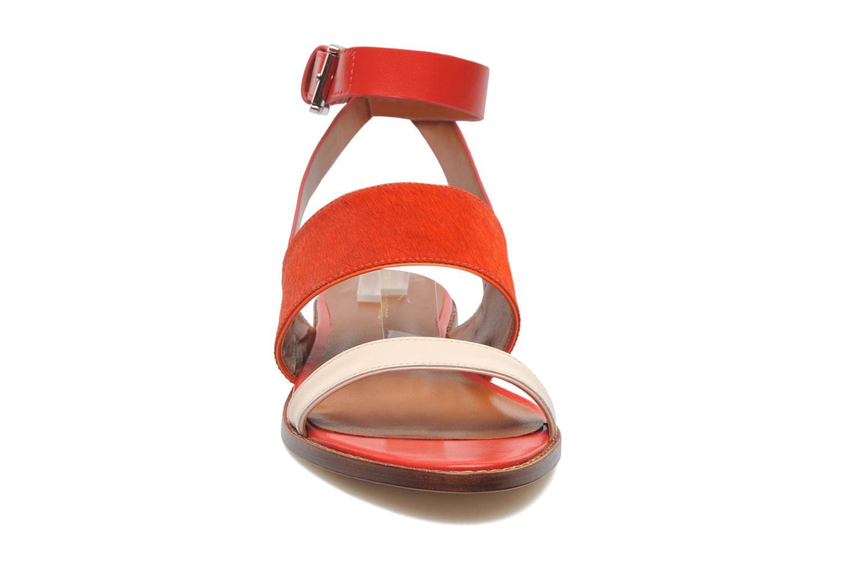 Sandales et nu-pieds Rebecca Minkoff Serena Orange vue portées chaussures