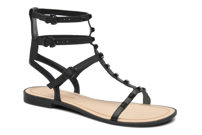 Sandales et nu-pieds Rebecca Minkoff Georgina Noir vue détail/paire