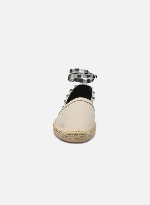 Espadrilles Rebecca Minkoff Gilles Beige vue portées chaussures