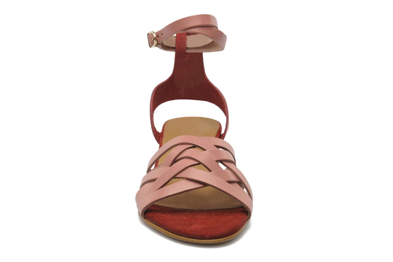Sandals Georgia Rose Labibiche Pink model view