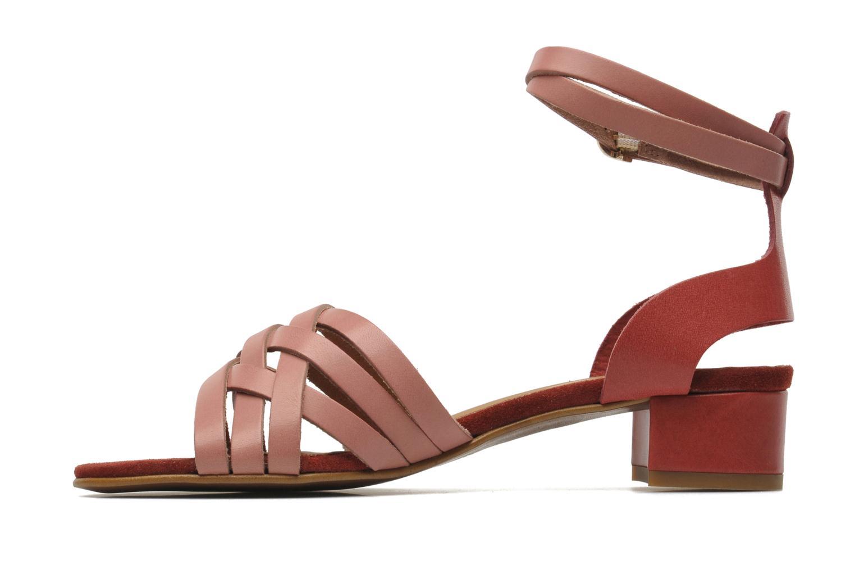 Sandals Georgia Rose Labibiche Pink front view