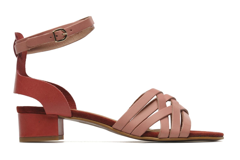 Sandales et nu-pieds Georgia Rose Labibiche Rose vue derrière