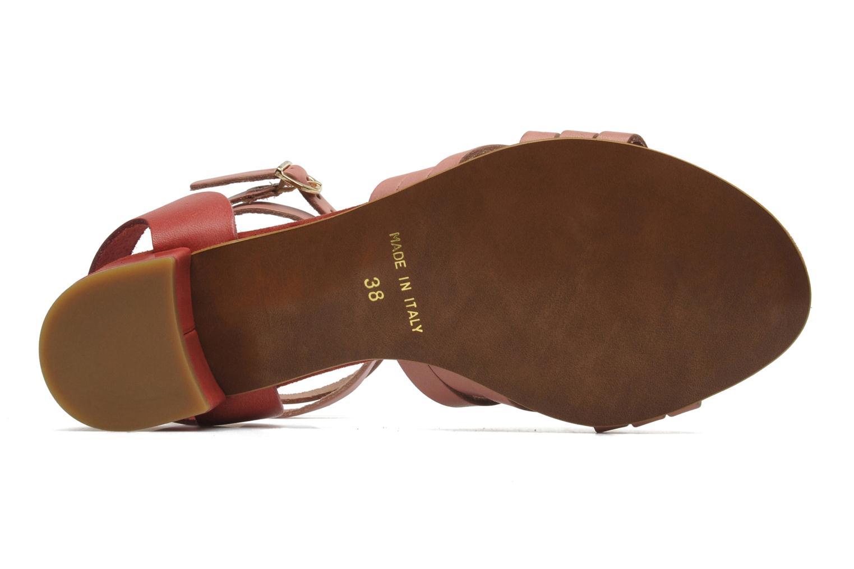 Sandales et nu-pieds Georgia Rose Labibiche Rose vue haut