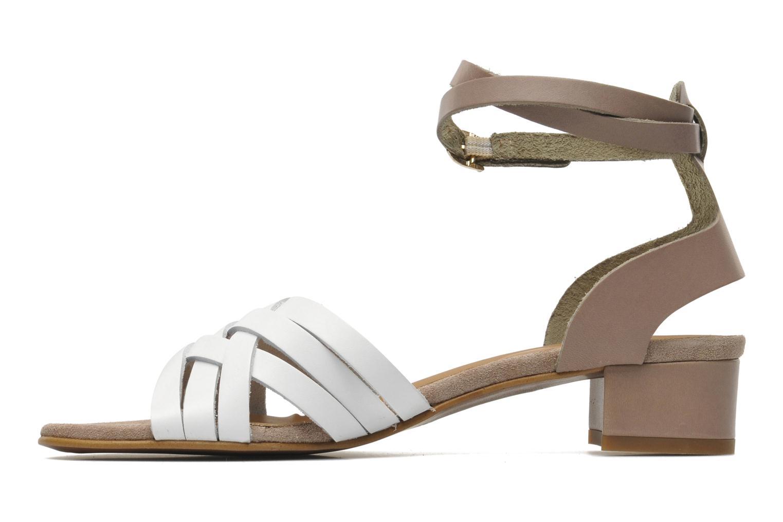 Sandales et nu-pieds Georgia Rose Labibiche Blanc vue face