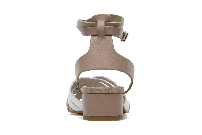 Sandales et nu-pieds Georgia Rose Labibiche Blanc vue droite