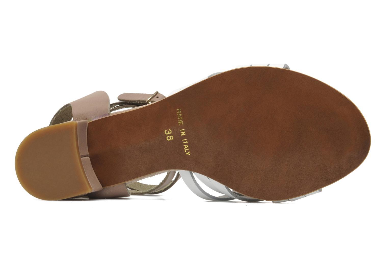 Sandales et nu-pieds Georgia Rose Labibiche Blanc vue haut