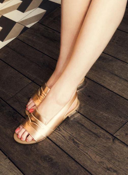 Sandales et nu-pieds Made by SARENZA Chamallow #1 Marron vue 3/4