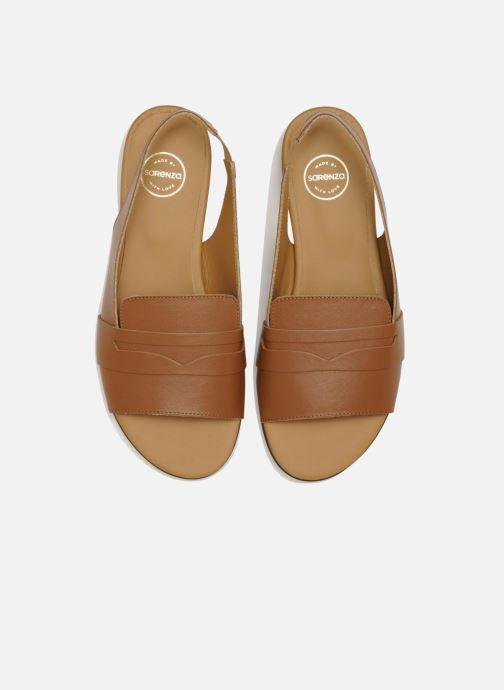 Sandales et nu-pieds Made by SARENZA Chamallow #1 Marron vue portées chaussures