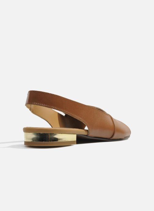 Sandales et nu-pieds Made by SARENZA Chamallow #1 Marron vue face
