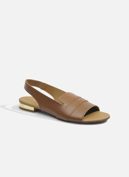 Sandales et nu-pieds Made by SARENZA Chamallow #1 Marron vue droite