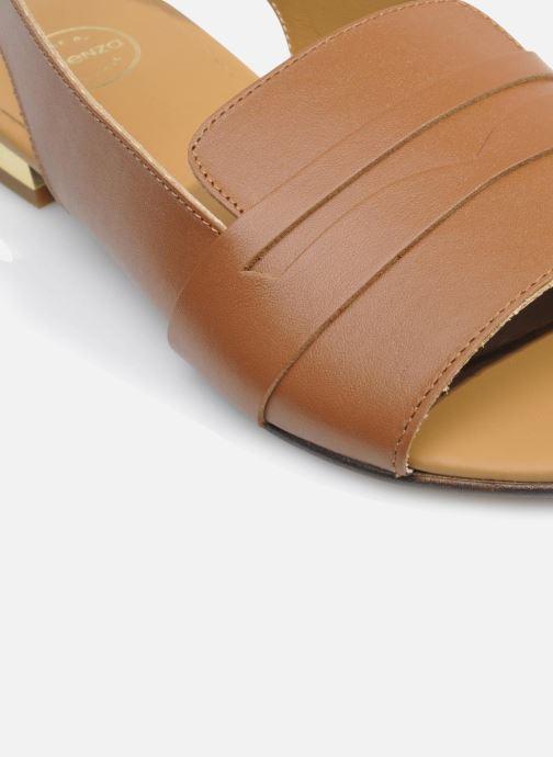 Sandales et nu-pieds Made by SARENZA Chamallow #1 Marron vue haut