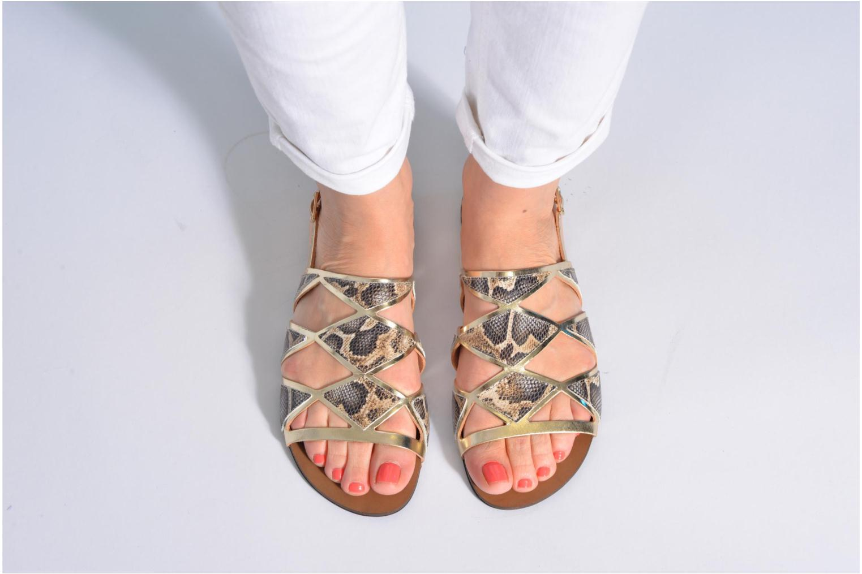 Sandales et nu-pieds Made by SARENZA Nairobi #1 Multicolore vue bas / vue portée sac