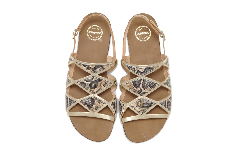 Sandales et nu-pieds Made by SARENZA Nairobi #1 Multicolore vue portées chaussures