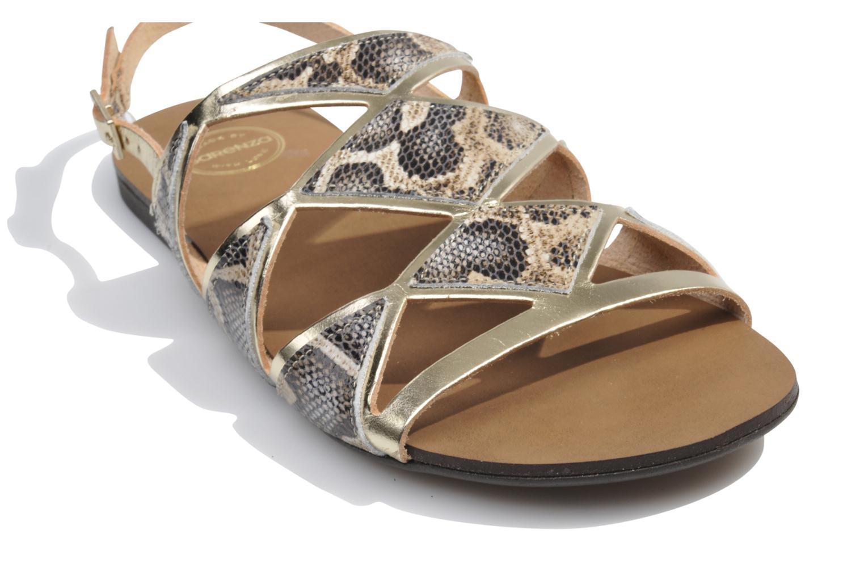 Sandales et nu-pieds Made by SARENZA Nairobi #1 Multicolore vue haut