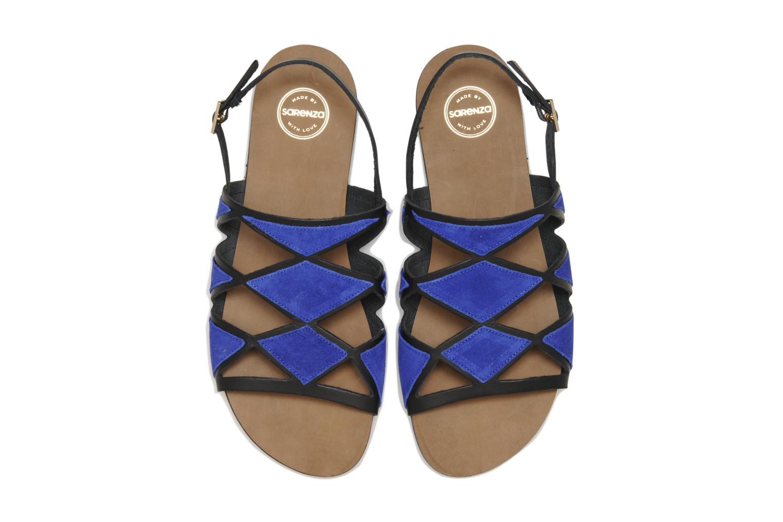 Sandals Made by SARENZA Nairobi #1 Blue model view