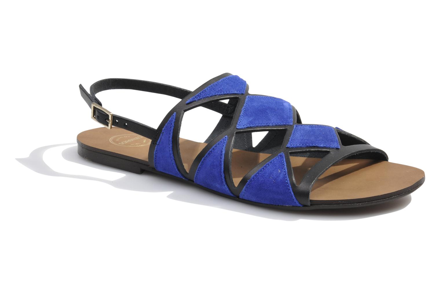 Sandals Made by SARENZA Nairobi #1 Blue view from the right