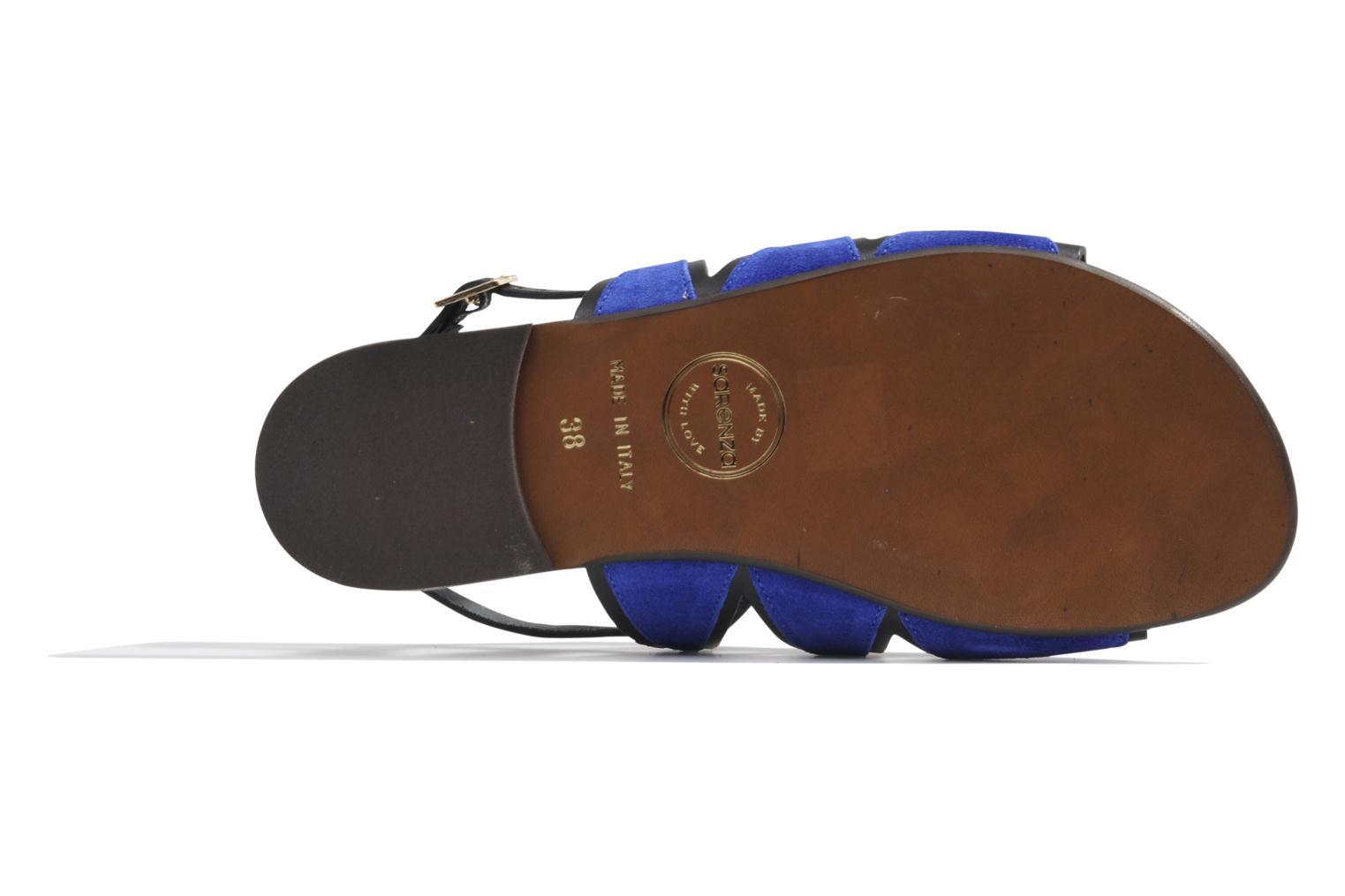 Sandals Made by SARENZA Nairobi #1 Blue view from the left