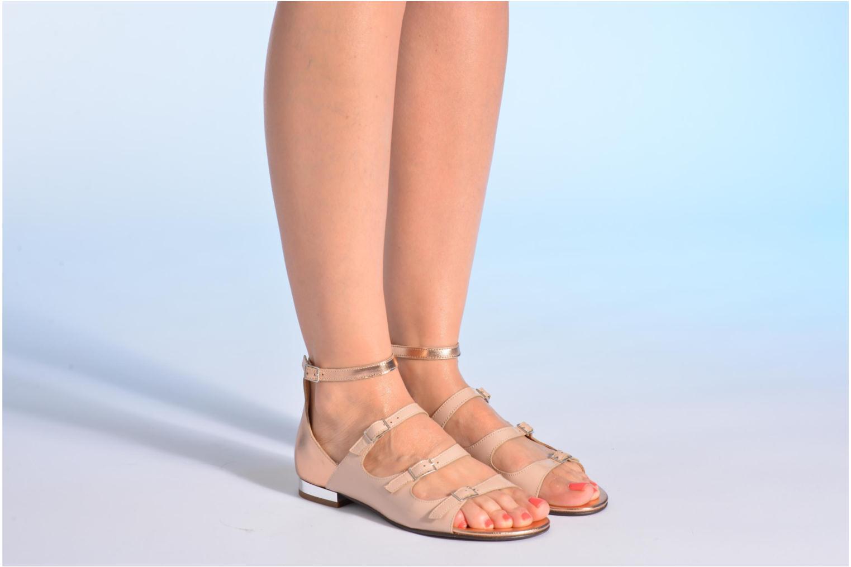 Sandalias Made by SARENZA Chamallow #4 Beige vista de abajo