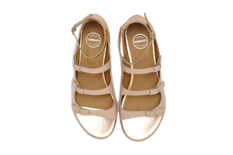 Sandalias Made by SARENZA Chamallow #4 Beige vista del modelo
