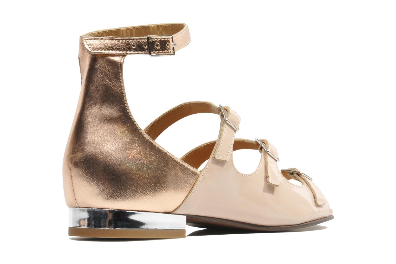 Sandalias Made by SARENZA Chamallow #4 Beige vista de frente