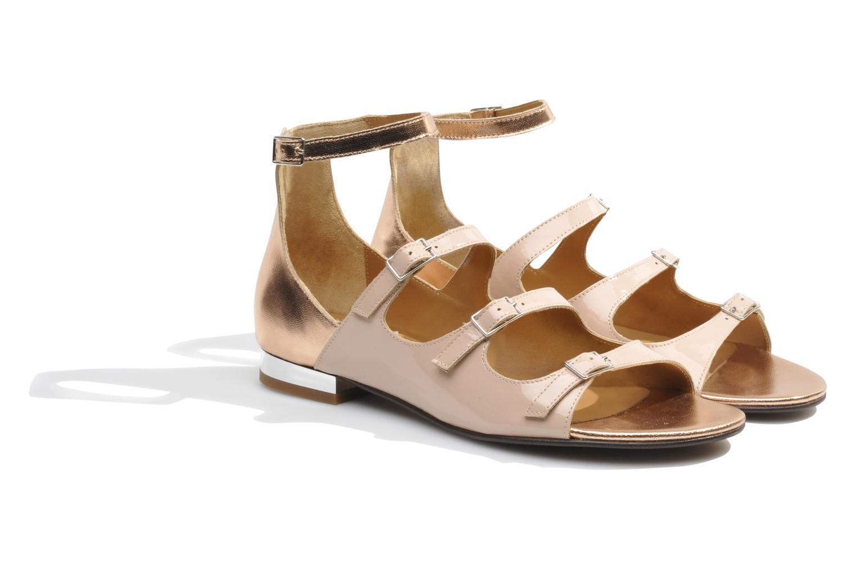 Sandalias Made by SARENZA Chamallow #4 Beige vistra trasera