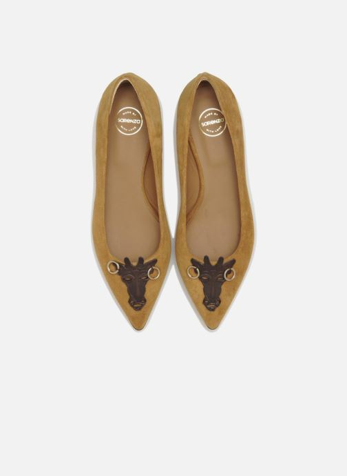 Ballerines Made by SARENZA Cape Town #10 Marron vue portées chaussures