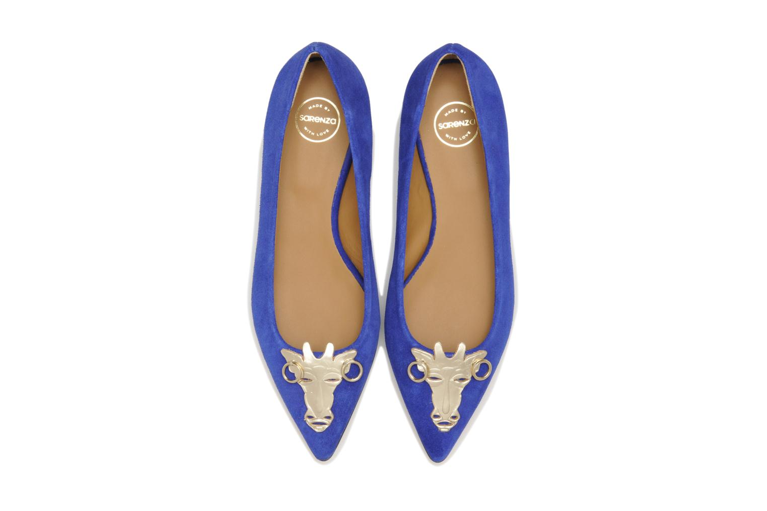 Ballet pumps Made by SARENZA Cape Town #10 Blue model view