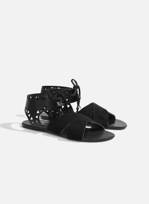 Sandales et nu-pieds Made by SARENZA Nairobi #2 Noir vue derrière