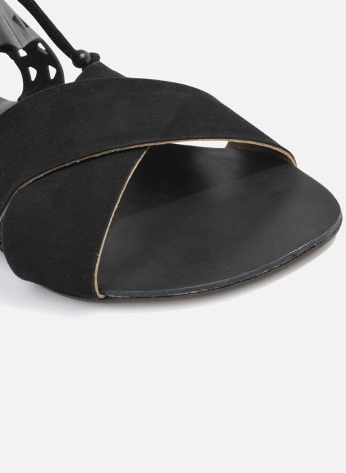 Sandales et nu-pieds Made by SARENZA Nairobi #2 Noir vue haut